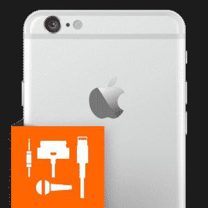 Επισκευή βάση φόρτισης – μικρόφωνο - jack cable iPhone 6 Plus