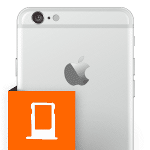 Επισκευή SIM card case iPhone 6 Plus